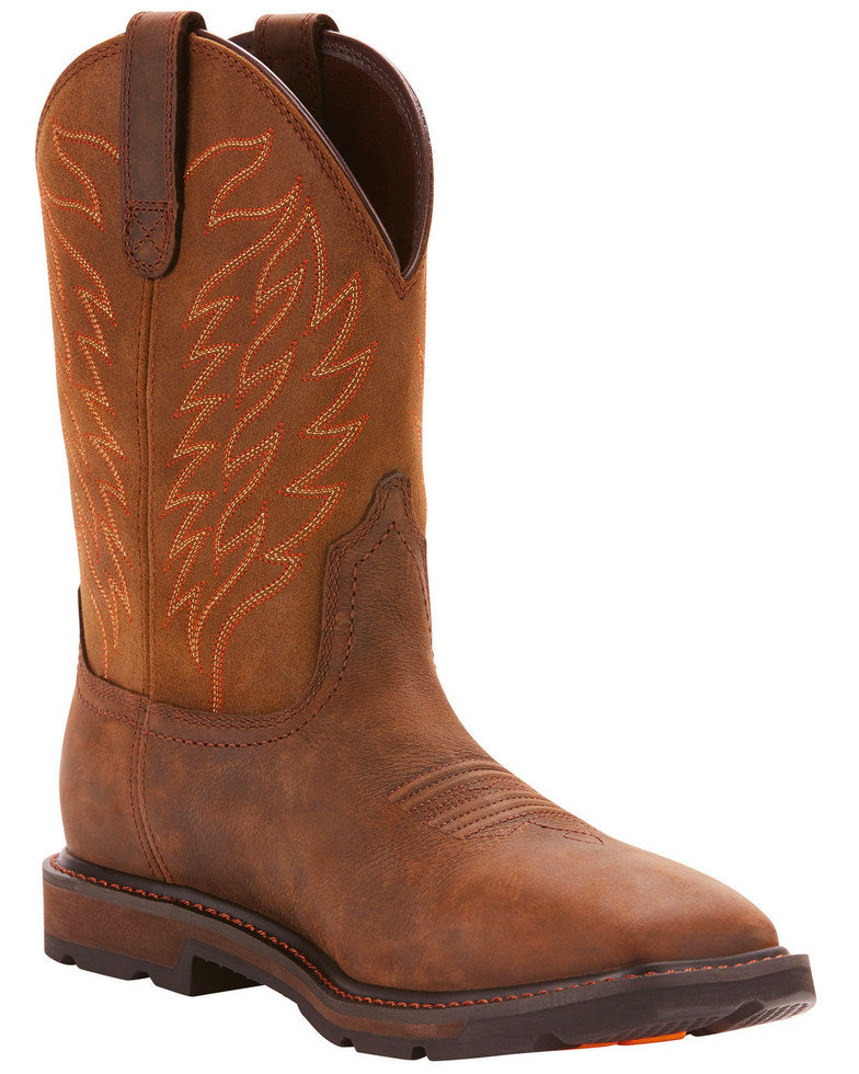 Ariat Men's Groundbreaker H2O Square Toe Boots