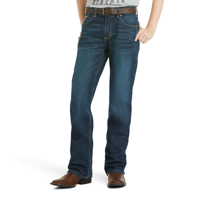 Ariat Boys B4 Relaxed Stretch Legacy Boot Cut Jean