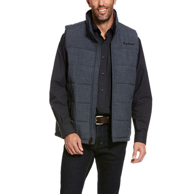 Ariat Men's Crius Insulated Vest - Slate Heather