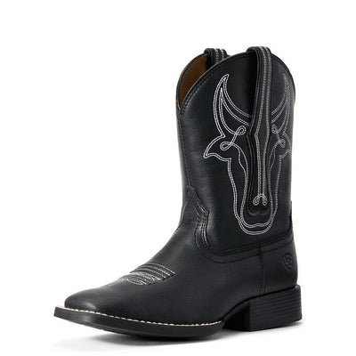 Ariat Kid's Bully Bully Black Western Boot