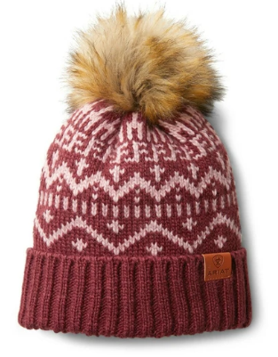 Ariat Women's Fig Galaxy/Island Blush Aztec Beanie