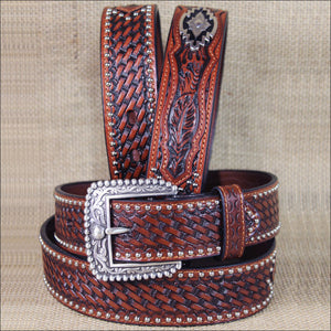Ariat Men's Southwest Concho Western Belt