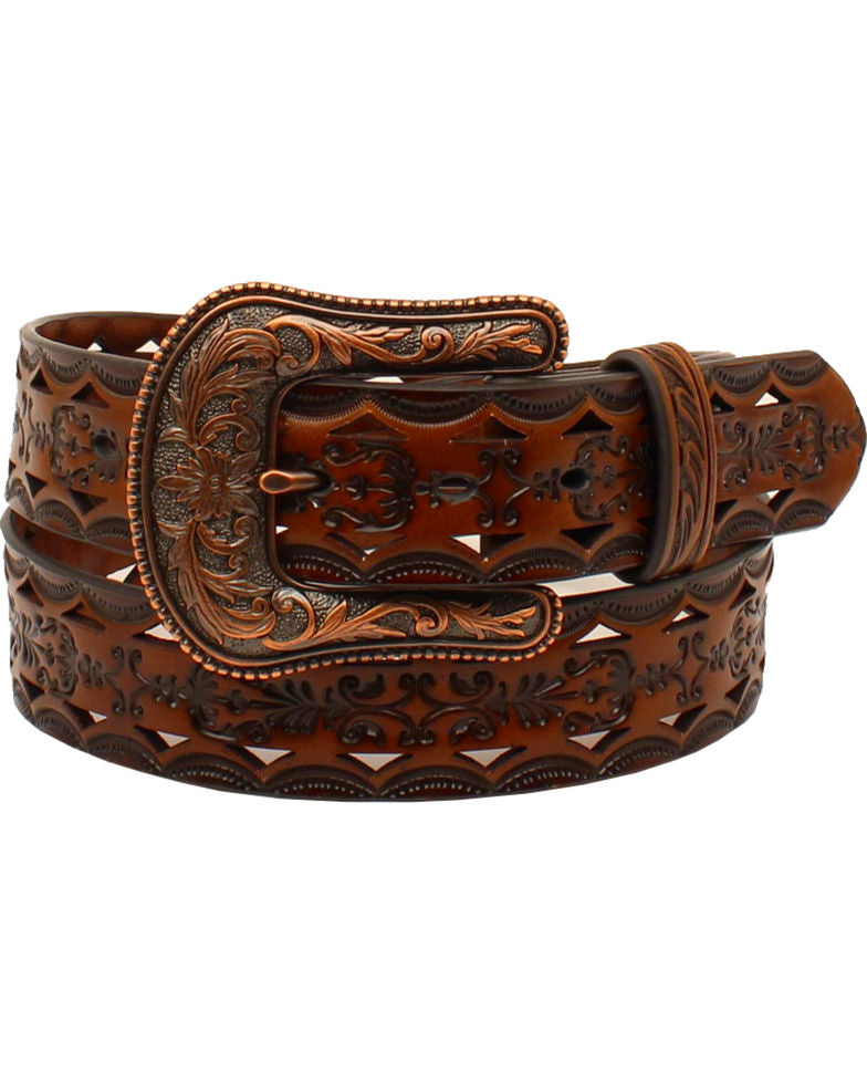 Ariat Women's Laser Cut Western Belt