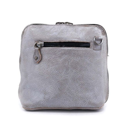 "Bed Stu ""Ventura"" Grey Rustic Silver Metallic Handbag"