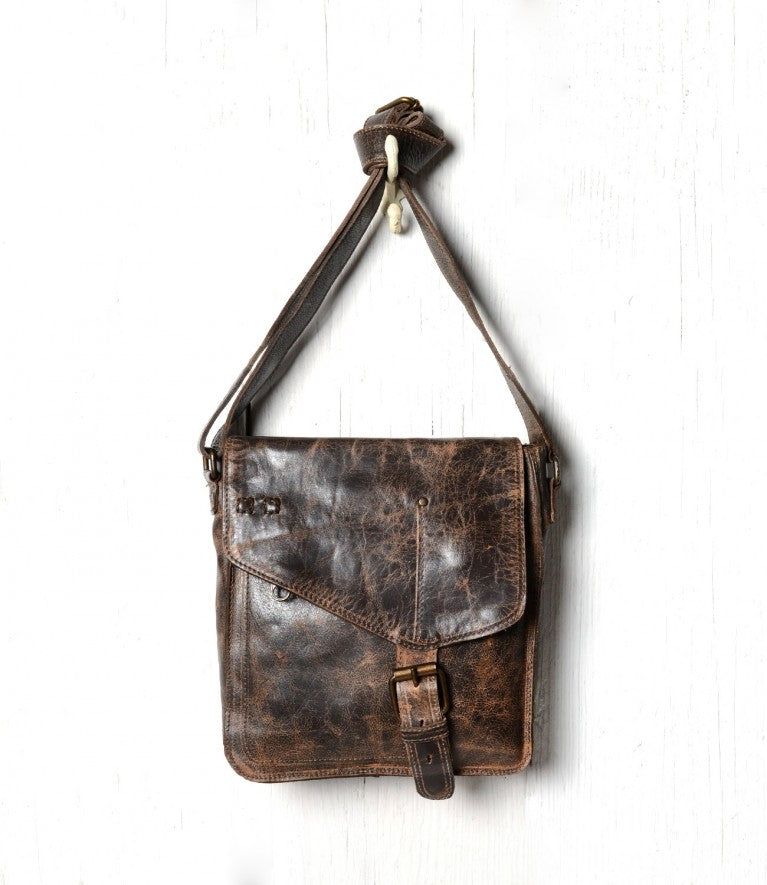 "Bed Stu ""Venice Beach"" Teak Lux Shoulder Bag"