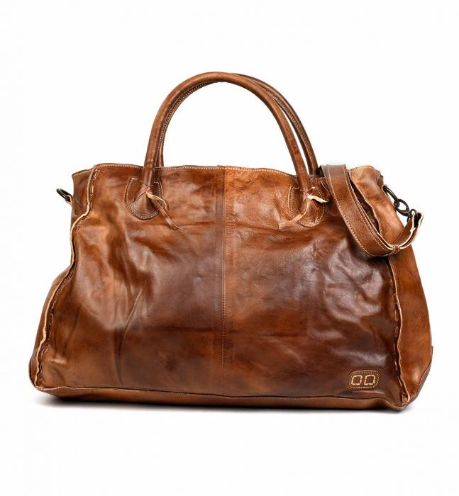 "Bed Stu ""Rockaway"" Tan Rustic Handbag"