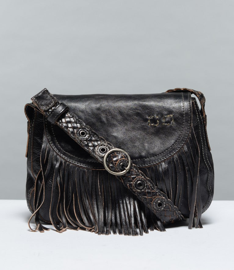 "Bed Stu ""Eastend"" Black Rustic Handbag"