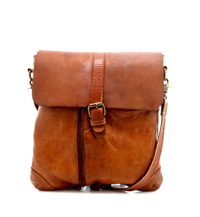 "Bed Stu ""Jack"" Tan Rustic Handbag"