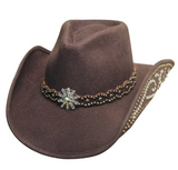 "Bullhide Women's ""Your Everything"" Chocolate Hat"