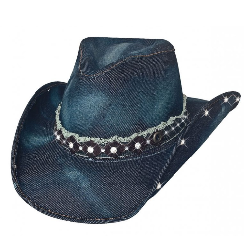"Bullhide Women's ""Better Than Yesterday"" Denim Hat"