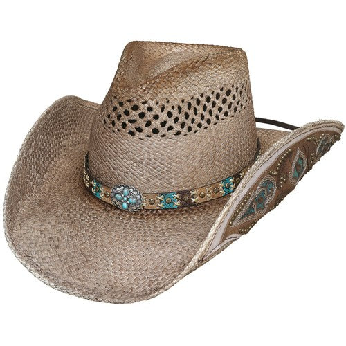 "Bullhide Women's ""From The Heart"" Straw Hat"