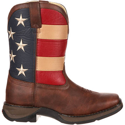 Durango Youth Patriotic Western Flag Boot