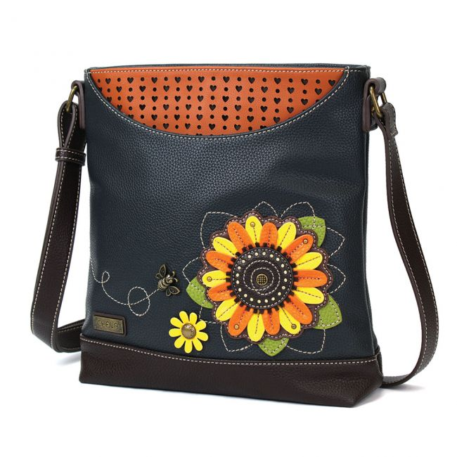 Chala Handbags Sweet Messenger - Sunflower