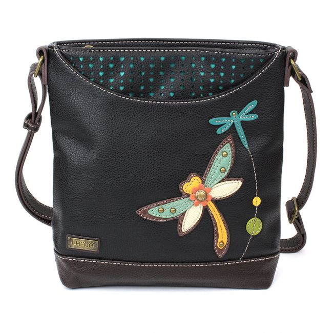 Chala Handbags Dragonfly Sweet Messenger