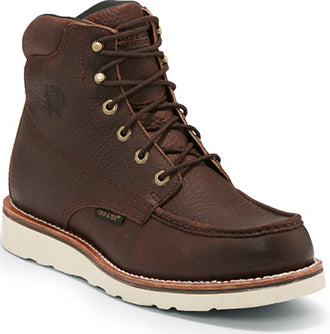 "Chippewa Men's 6"" Edge Walker Waterproof Moc Toe Laceup"