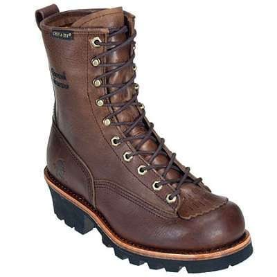 "Chippewa Men's 8"" Waterproof Logger Work Boot"