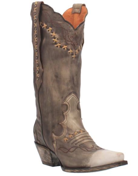 Dan Post Women's Amore Chocolate Western Boot