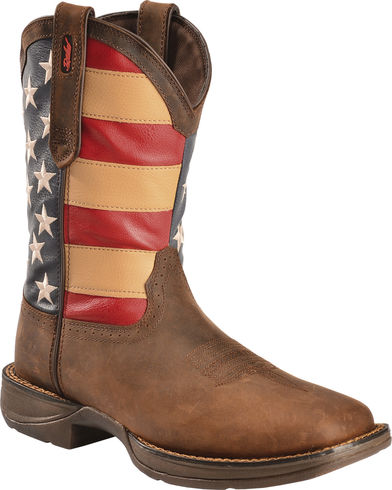 Durango Men's Patriotic Square Toe Western Boot