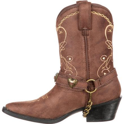 Durango Big Kid Lil' Crush Heartfelt Western Boot