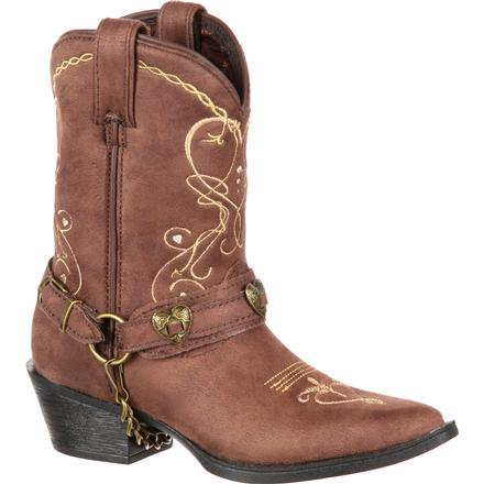Durango Little Kid Lil' Crush Heartfelt Western Boot
