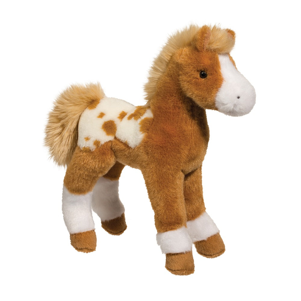 Douglas Cuddle Toy Freckles Golden Appaloosa Foal