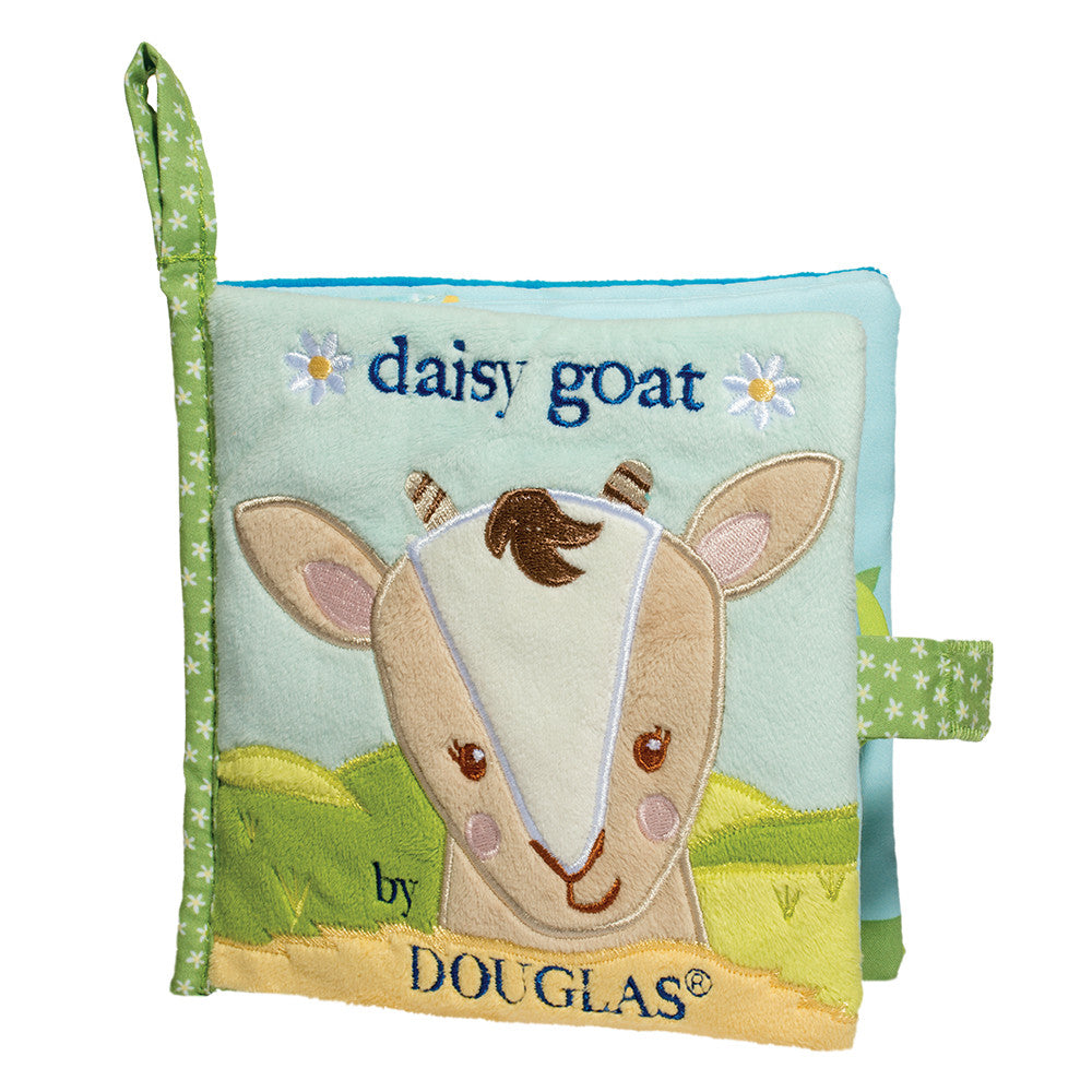 Douglas Cuddle Toy Daisy Goat Soft Activity Book