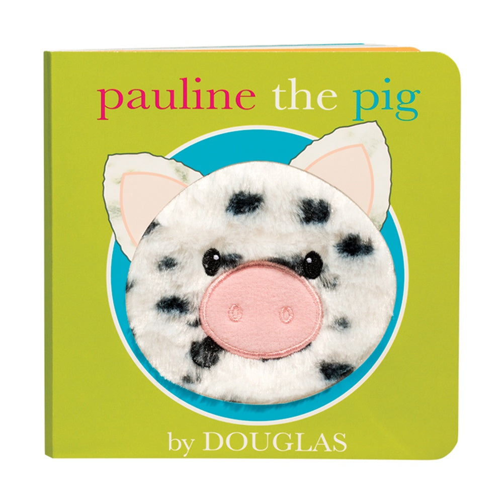 Douglas Cuddle Toy Pauline the Pig Board Book