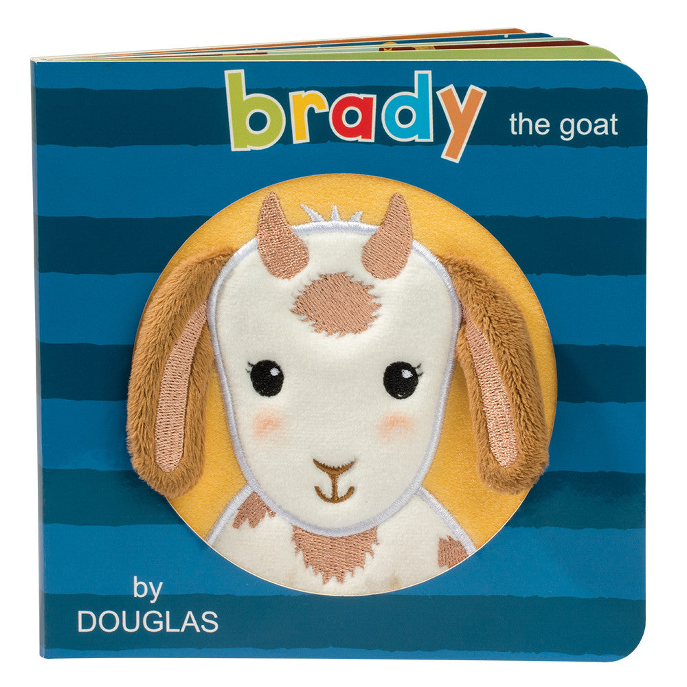 Douglas Cuddle Toy Brady the Goat Board Book