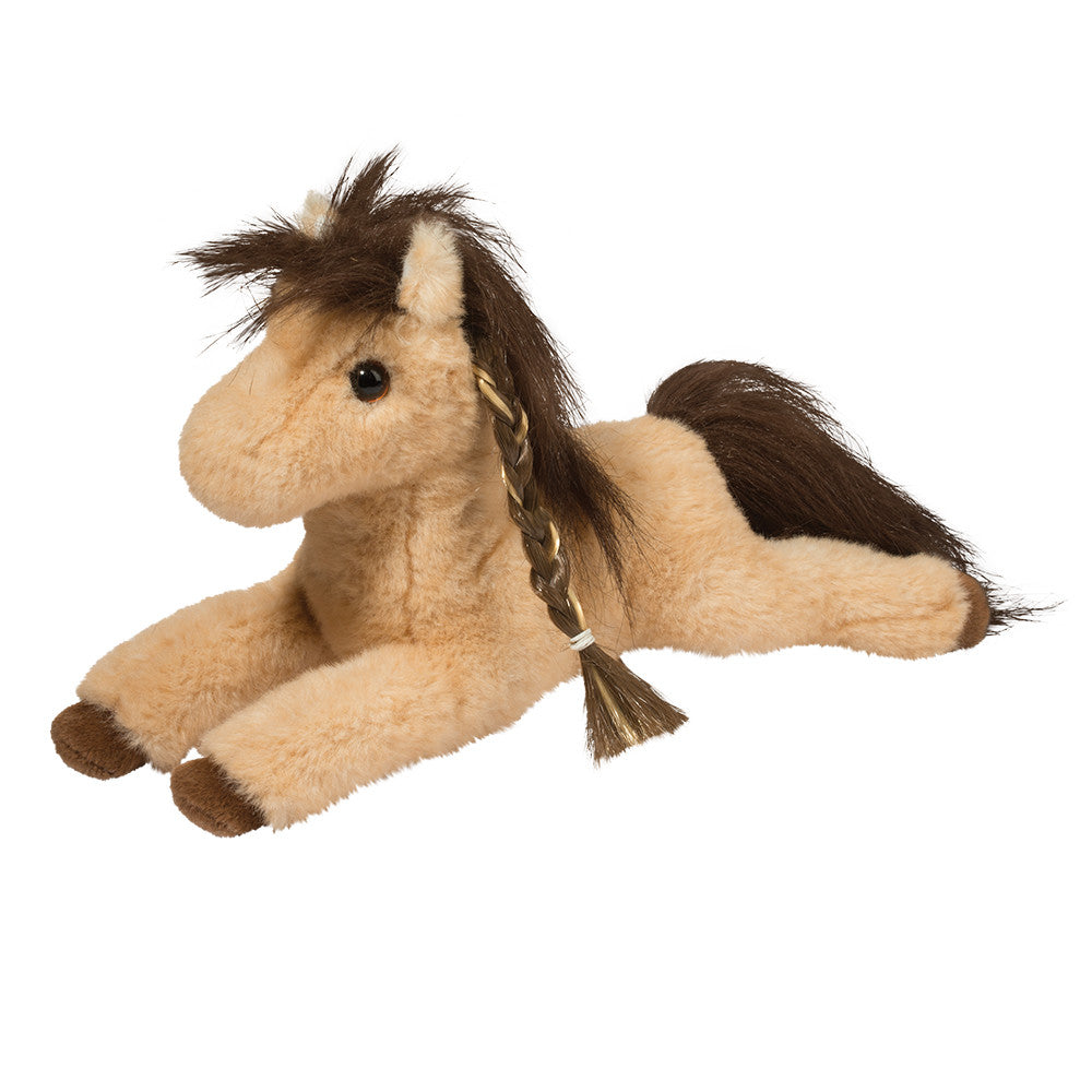 Douglas Cuddle Toy Cisco Tan Horse