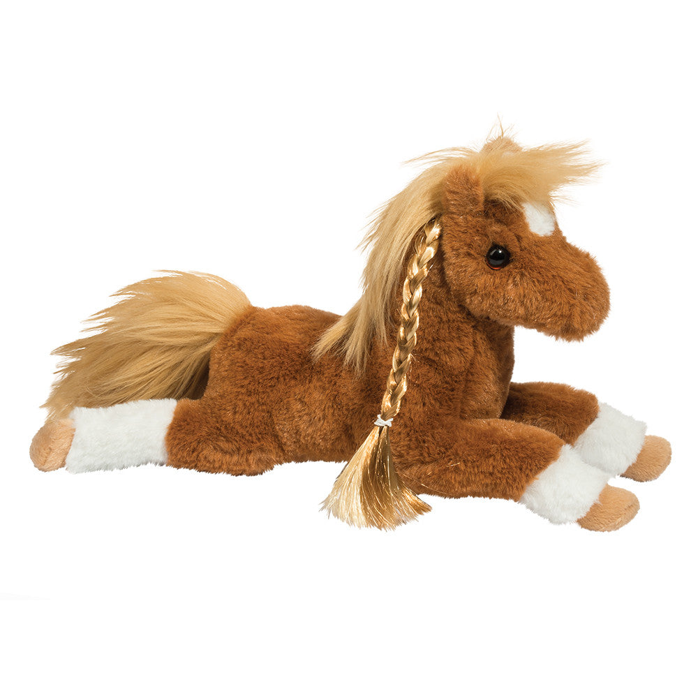 Douglas Cuddle Toy Kena Chestnut Horse