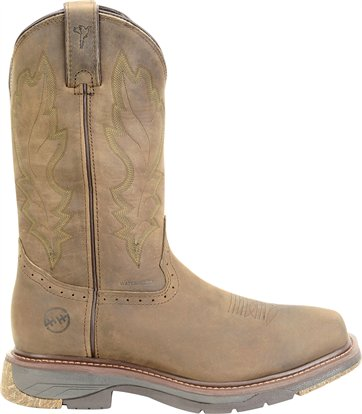 "Double H Men's 12"" Wide Square Toe Roper"