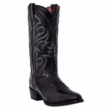 Dan Post Men's Black Western Boot - R Toe
