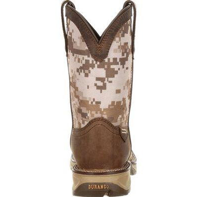 Durango Kids Lil' Rebel Camo Western Boot