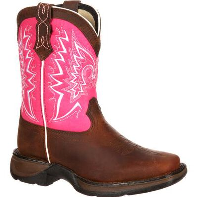 Durango Lil' Kids Let Love Fly Western Boot