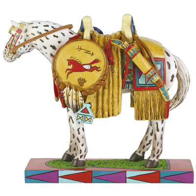 "Enesco Trail of the Painted Ponies Figurine ""Appaloosa Pride"""