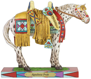 "Enesco ""Appaloosa Pride"" Trail of the Painted Ponies Figurine"