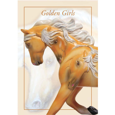 "Enesco ""Golden Girls"" Trail of the Painted Ponies Figurine"