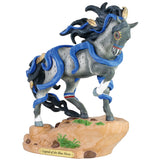 "Enesco ""Legend of the Blue Horse"" Trail of the Painted Ponies Figurine"
