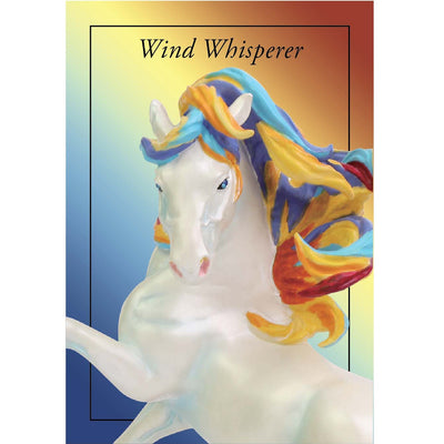 "Enesco ""Wind Whisperer"" Trail of the Painted Ponies Figurine"