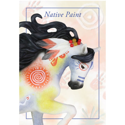 "Enesco ""Native Paint"" Trail of the Painted Ponies Figurine"