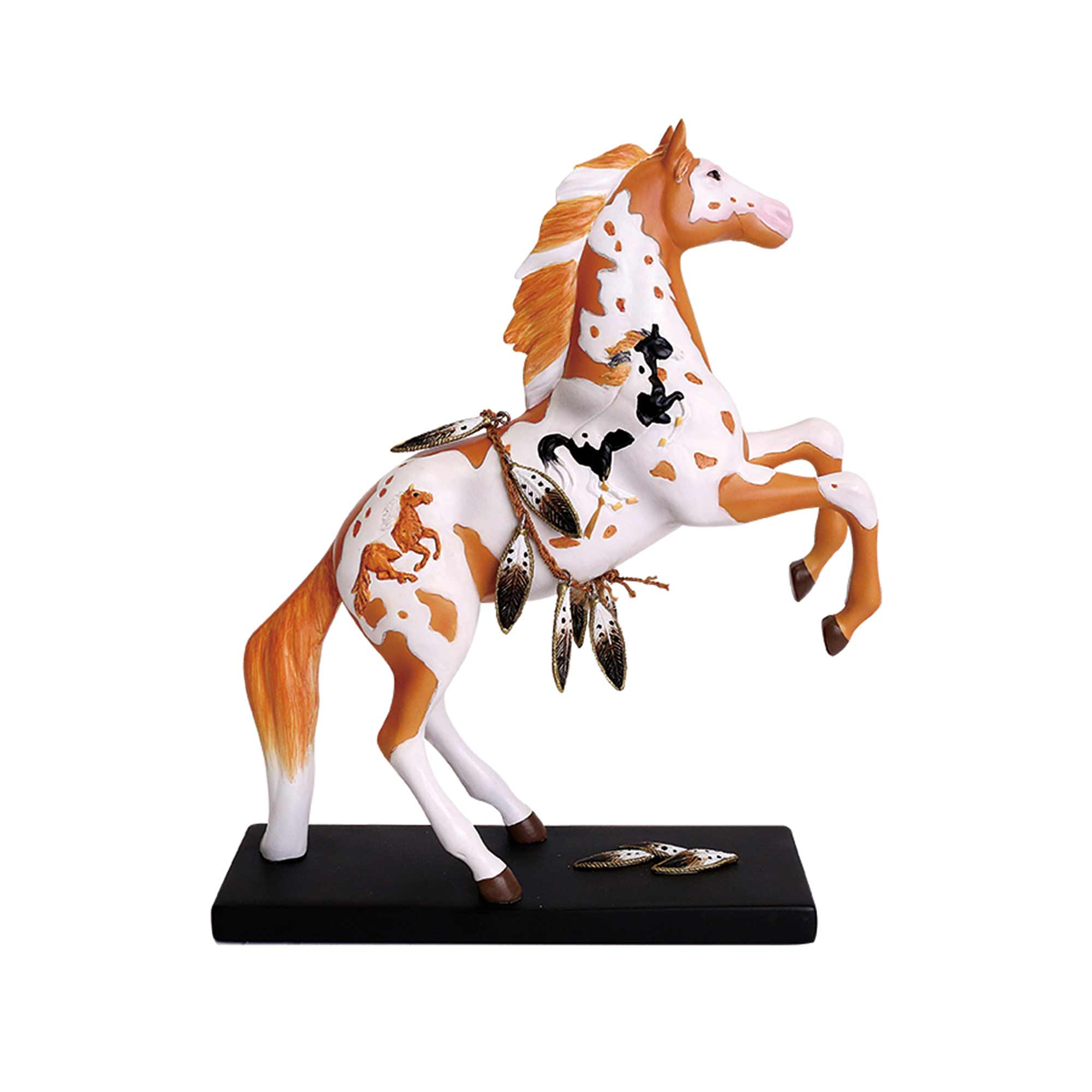 "Enesco ""Spirit Horse"" Trail of the Painted Ponies Figurine"