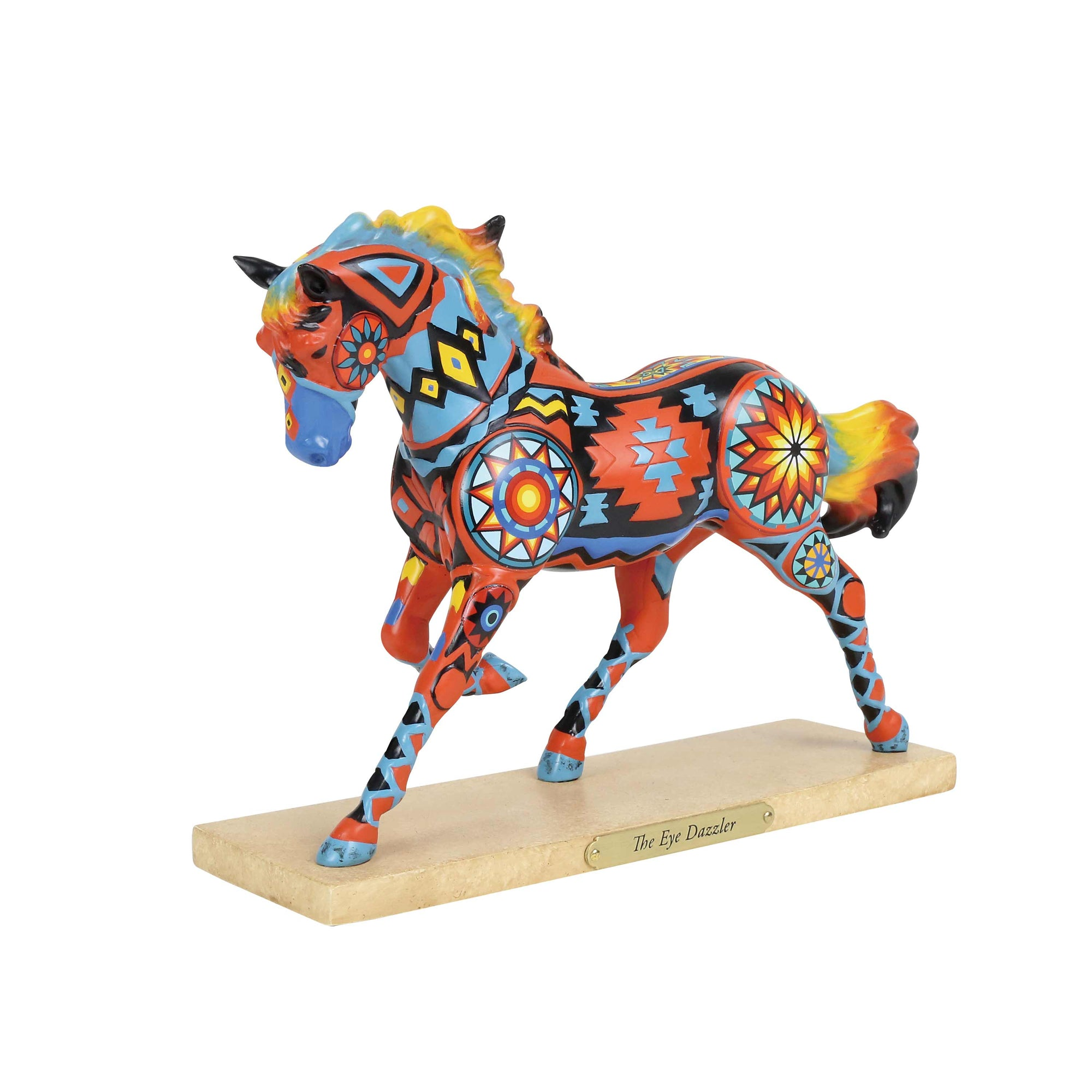 "Enesco ""The Eye Dazzler"" Trail of the Painted Ponies Figurine"