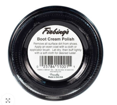 Fiebing's Boot & Shoe Creme Polish - Medium Brown (27)