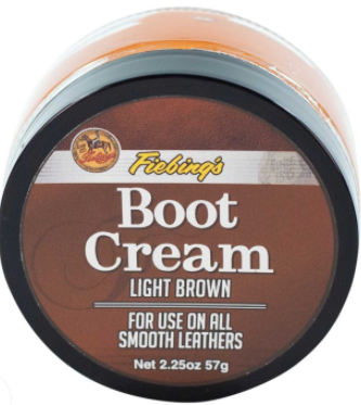 Fiebing's Boot & Shoe Creme Polish - Light Brown (25)