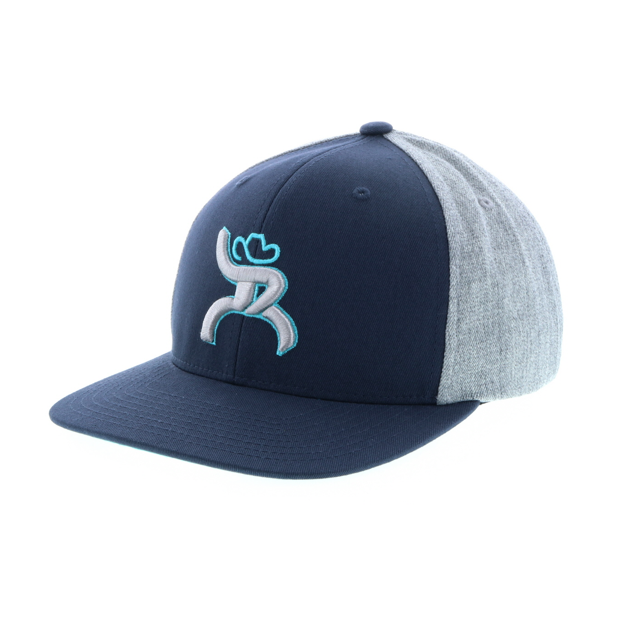 "Hooey Brands ""Hawk"" Roughy Snapback Navy/Grey Cap"