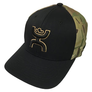 Hooey Brands Chris Kyle Black/Camo Flexfit Cap