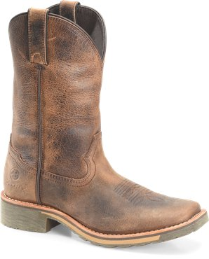 "Double H Women's 10"" Maxflex Wide Square Toe Roper"