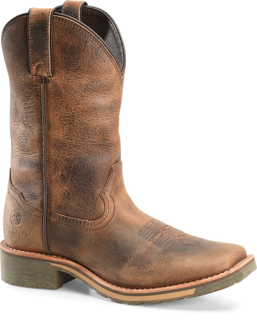 "Double H Men's 11"" MaxFlex Wide Square Toe Roper - Jadon"