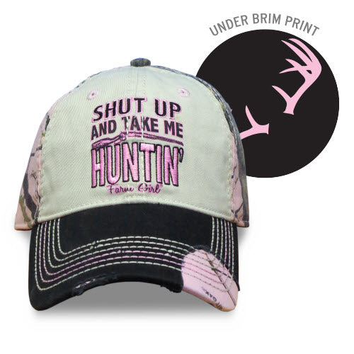 "J America Farm Girl Women's ""Take Me Huntin"" Cap"