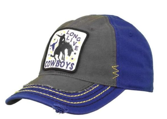 Farm Boy Youth Wrangler Long Live Cowboys Cap
